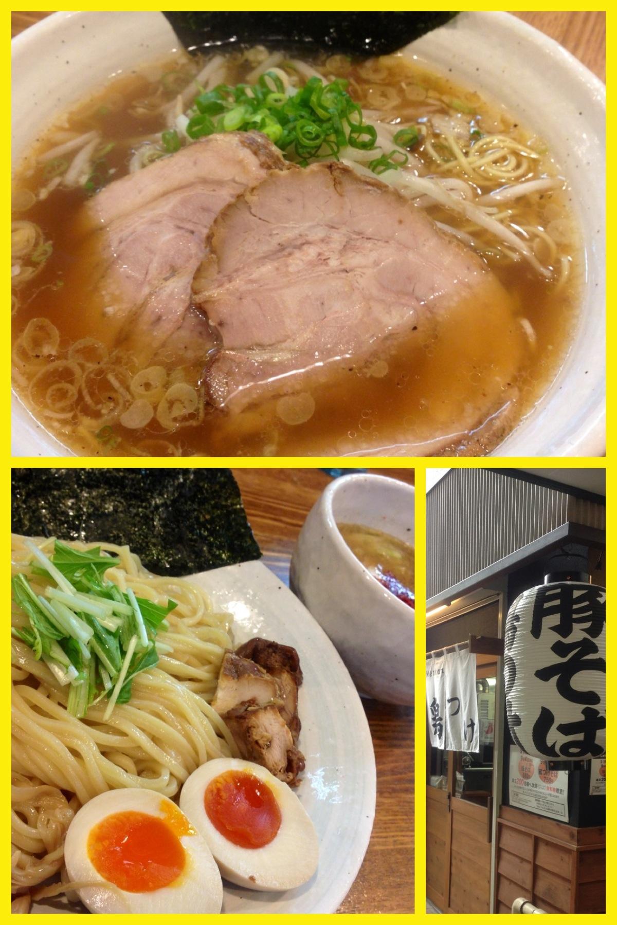「上海麺館」新装開店、豚そば・鶏つけそば専門店に