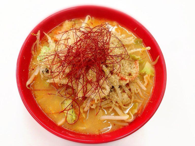 秋レシピ(1)ホットな味噌らーめん