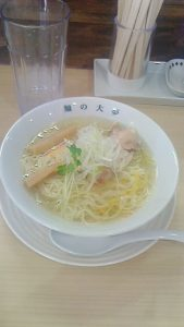 18期生長谷さんの「麺の大夢」オープン!