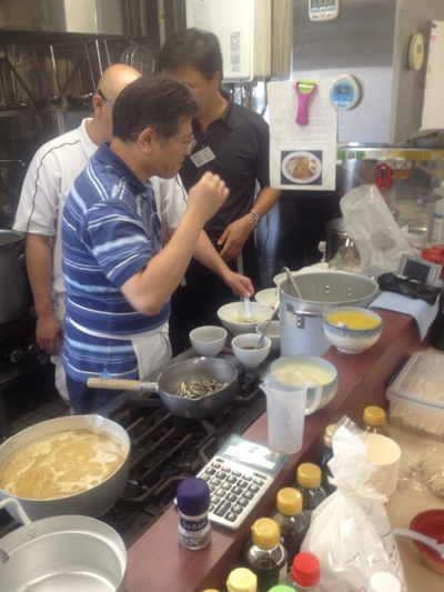 「広州市場 わんたん麺」/YSKグループ代表 山岸様より 【鳥居式らーめん塾】について