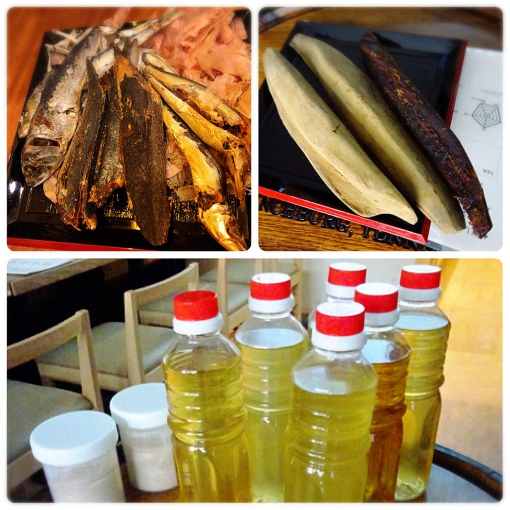 福島鰹株式会社 試飲用だしと節類、煮干し