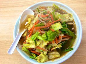 大成食品の製麺技能士謹製麺調理例