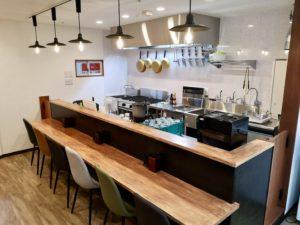 麺テイスティングカフェショップMENSTAカフェカウンター