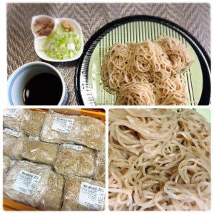 大成食品の製麺技能士謹製麺 長野県産石臼挽き粉使用 ひやむぎ
