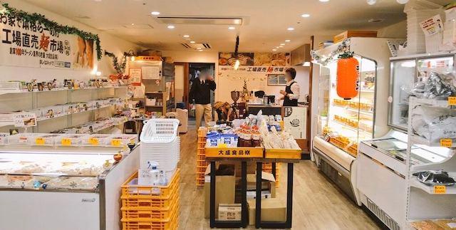 新装開店した麺テイスティング・カフェショップ MENSTA正面