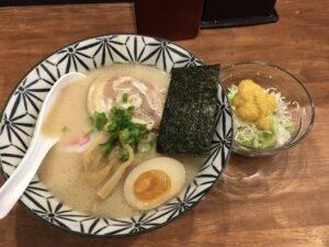 麺テイスティング・カフェショップ MENSTA テイスティングランチらーめん 例