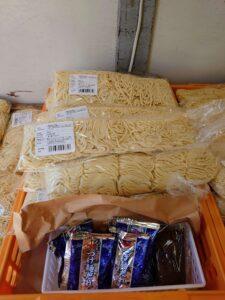 東京都中野区 大成食品株式会社謹製 業務用生中華麺 つけ麺とおすすめスープ