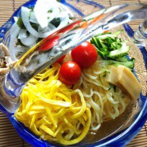 7月の予定 26日上海麺館の鯛だし鶏塩そば、終売間近! 麺彩房中野本店は月曜夜お休み。お家麺のお買い物は楽麦舎、麺市場@中野ブロードウェイ地下でどうぞ。