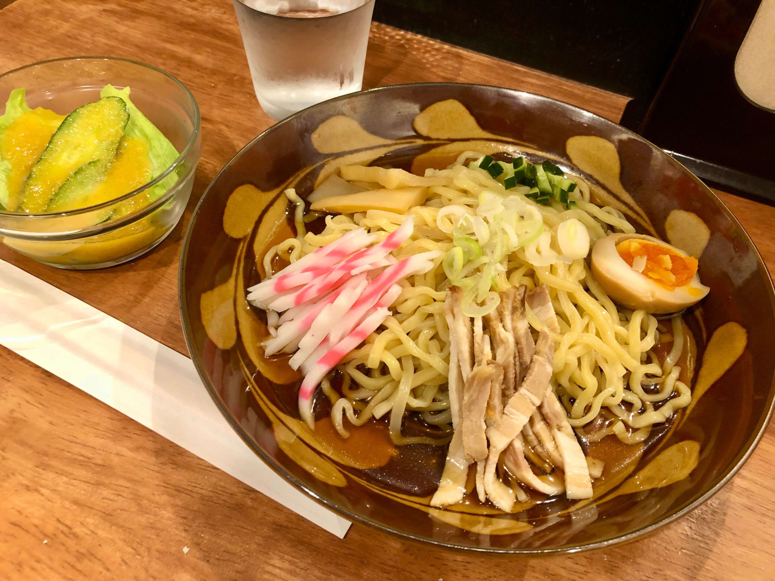 麺市場@テイスティングスポット ランチ 冷やし中華